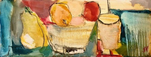 Jo Vollers, Bowl of Fruit (Hungerford Gallery)