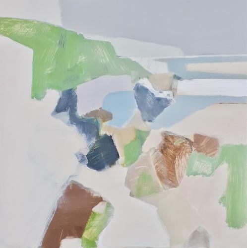 Myles Oxenford, Gwenver towards Sennen (Hungerford Gallery)