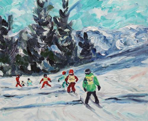 Fi Katzler, Ski School