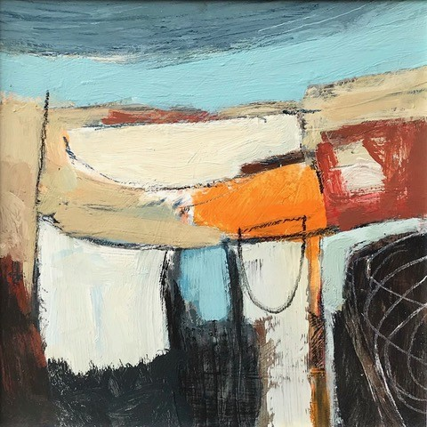 Malcolm Taylor, Sea Wash (Hungerford Gallery)