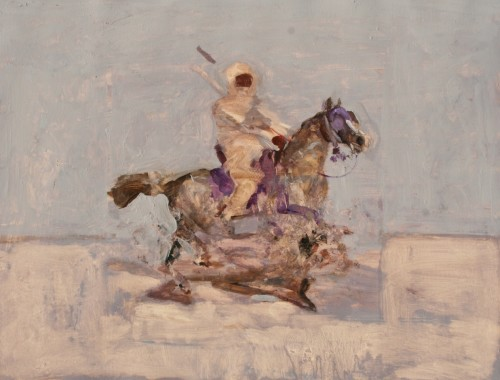 Antoine de La Boulaye, Orientalist Horseman VIII