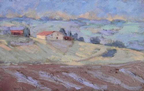 Hermione Owen, Hill Farm in France (Hungerford Gallery)