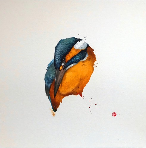 Karl Martens, Kingfisher VI (London Gallery)
