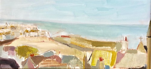 Jo Vollers, Rooftops of St Ives (London Gallery)