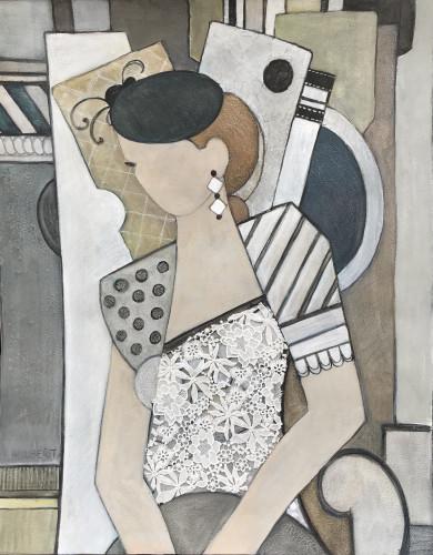 Judy Hulbert, Lace (London Gallery)