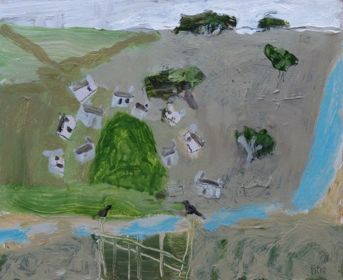 David Pearce, From the Garden Gate (Hungerford Gallery)