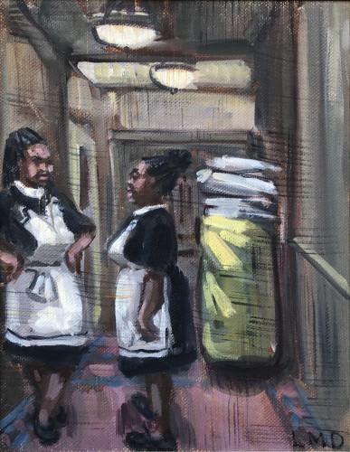 Lucy Dickens, Chambermaids, Waldorf Astoria (London Gallery)
