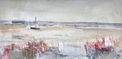 Jo Vollers, Malltraeth Estuary (Hungerford Gallery)