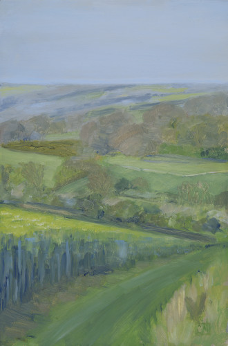 Celia Montague, Spring Afternoon Near Charlbury (London Gallery)