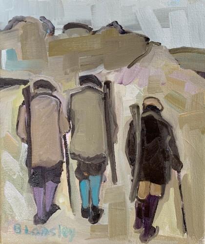 Bridget Lansley, Upward Path (Hungerford Gallery)
