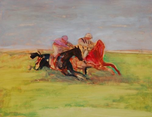 Antoine de La Boulaye, Photo Finish (Hungerford Gallery)