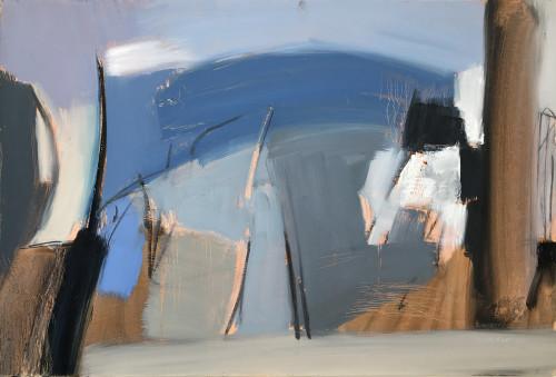 Dafila Scott, Wood in Winter (Hungerford Gallery)