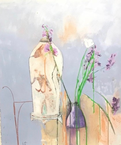 Felice Hodges, Violet and Mauve (Hungerford Gallery)