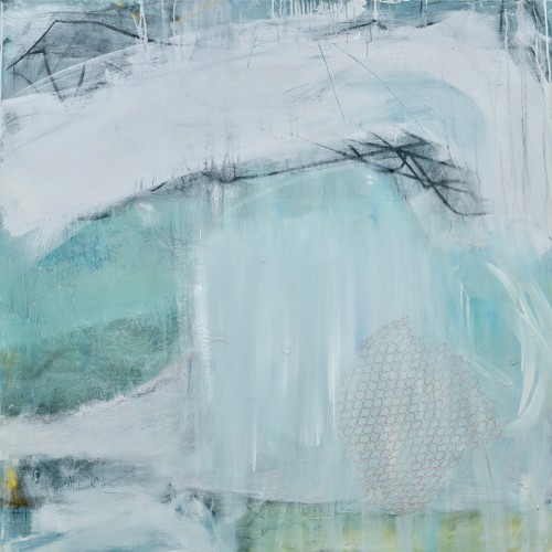 David Mankin, Wild White Horses Play (Hungerford Gallery)