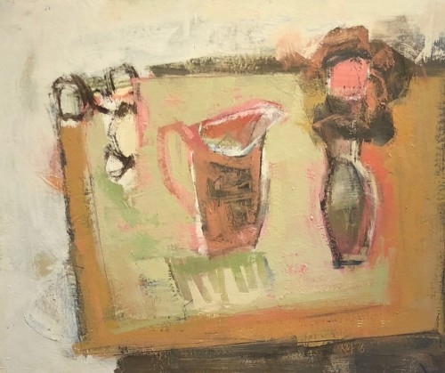Kathy Montgomery, Pink Jug Studio Table (London Gallery)