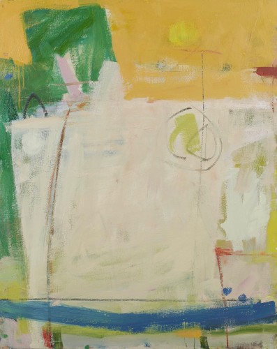 Chloë Lamb, Blue, Yellow and Green (Hungerford Gallery)