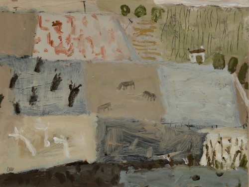 David Pearce, Smallholding (Hungerford Gallery)