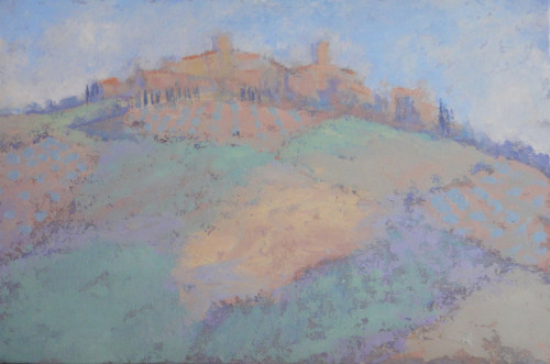 Hermione Owen, Tuscan Village (Hungerford Gallery)