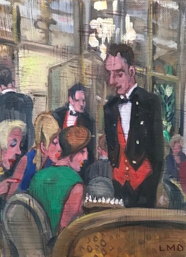 Lucy Dickens, Birthday Cake - The Ritz (Hungerford Gallery)
