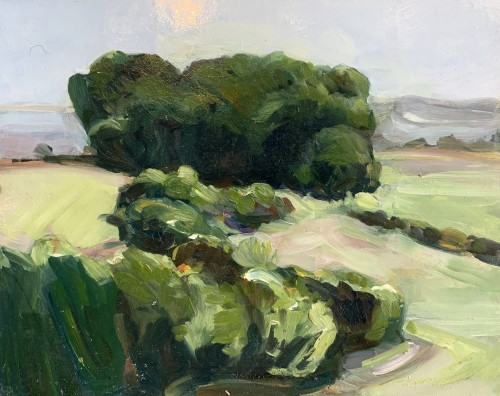 Minnie Shaw Stewart, Lambourn Downs VI (Hungerford Gallery)