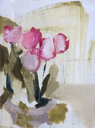 Jo Vollers, Bedwyn Tulips (Hungerford Gallery)