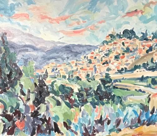 Fi Katzler, Bonnieux II (Hungerford Gallery)