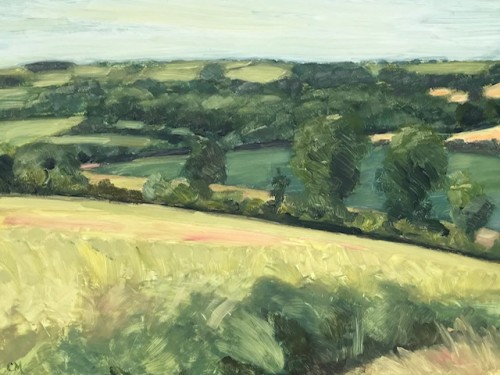 Celia Montague, July near Charlbury (Hungerford Gallery)