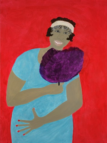 Kate Boxer, Ma Rainey (Hungerford Gallery)