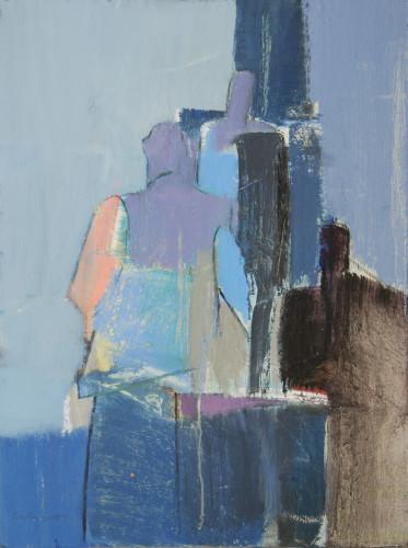 Dafila Scott, Figures in the City (London Gallery)