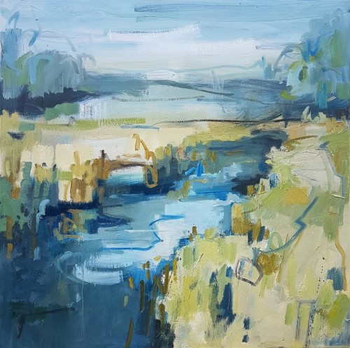 Kate Rhodes, Blue Reed (Hungerford Gallery)