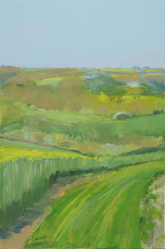 Celia Montague, Spring Day Near Charlbury (Hungerford Gallery)