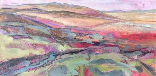 Emma Haggas, Rough Tor, Cornwall (Hungerford Gallery)