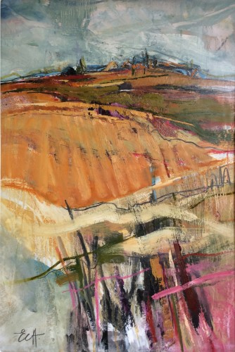 Emma Haggas, Hill Top Village (Hungerford Gallery)