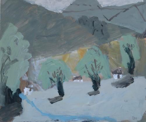 David Pearce, Three Oaks (London Gallery)
