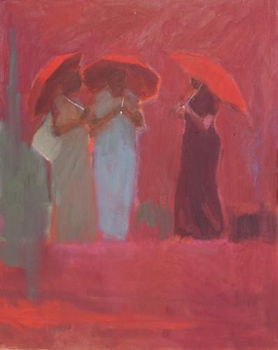 Clare Granger, Three Umbrellas