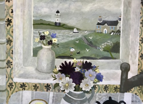 Sarah Bowman, Blustery Day (Hungerford Gallery)