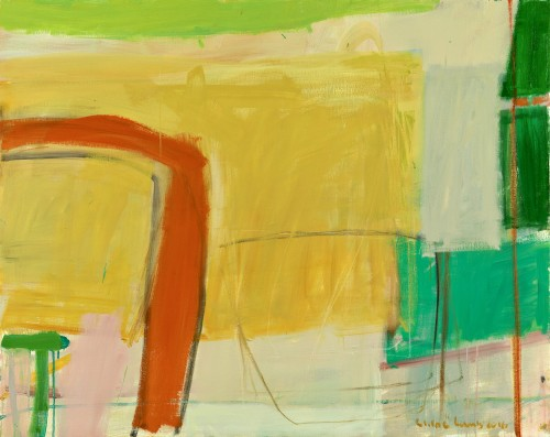 Chloë Lamb, Citrus Green (Hungerford Gallery)