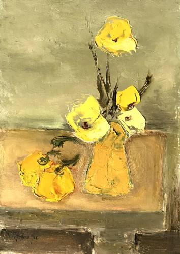 Val Pitchford, Fruit and Flowers (London Gallery)