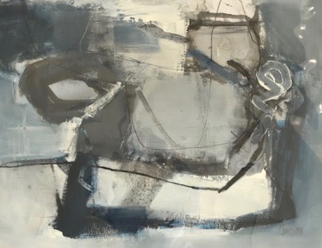 Chris Sims, Four Strong Winds (Mounted) (Hungerford Gallery)
