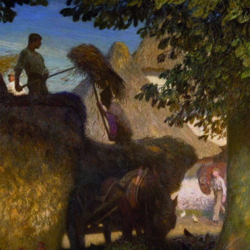 Sir George Clausen RA RWS