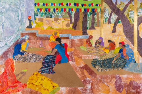 Dione Verulam, The Ladies Co-operative, Ranthambore (Hungerford Gallery)