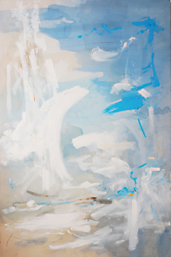 Bob Aldous, Into the blue (Hungerford Gallery)