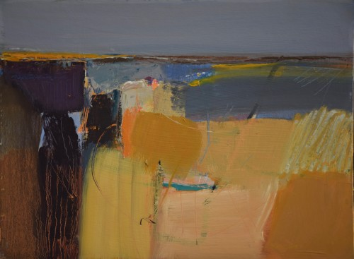 Dafila Scott, Summer at the Coast (Hungerford Gallery)