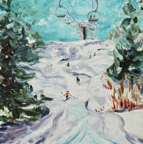 Fi Katzler, Fresh Snow (London Gallery)