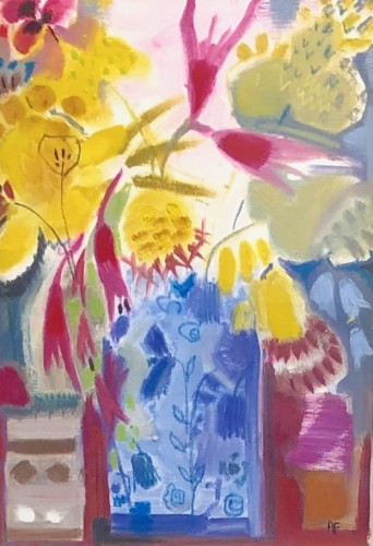 Annabel Fairfax, Fuschia Design (Hungerford Gallery)