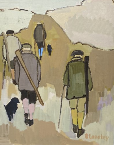 Bridget Lansley, Taking the High Road (Hungerford Gallery)