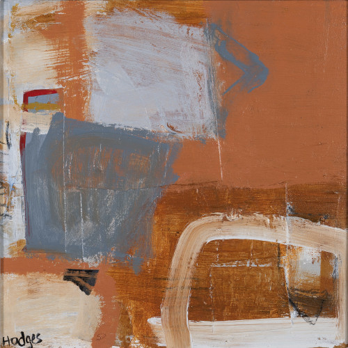 Felice Hodges, Blue on Terracotta
