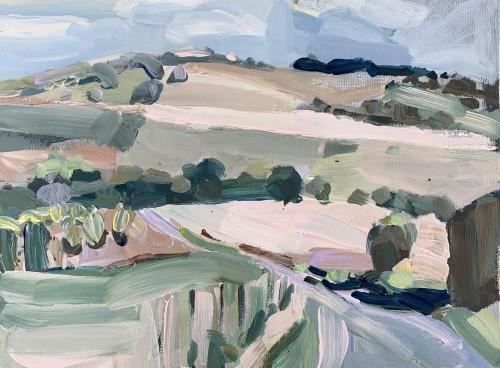 Minnie Shaw Stewart, Near Baydon (London Gallery)