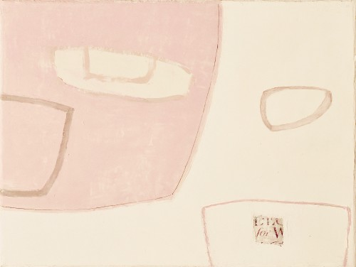 Jenny Lock, Composition in Pink (Hungerford Gallery)