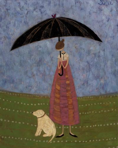 Ellen Skidmore, Morning (Unframed) (Hungerford Gallery)